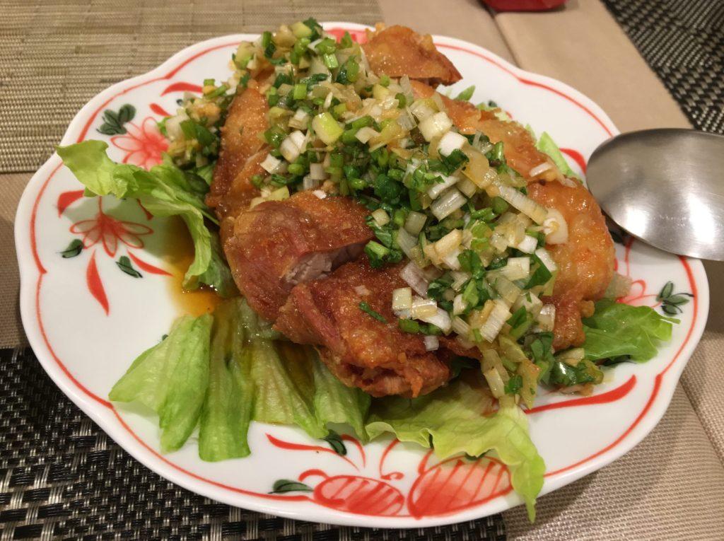 フートン油淋鶏