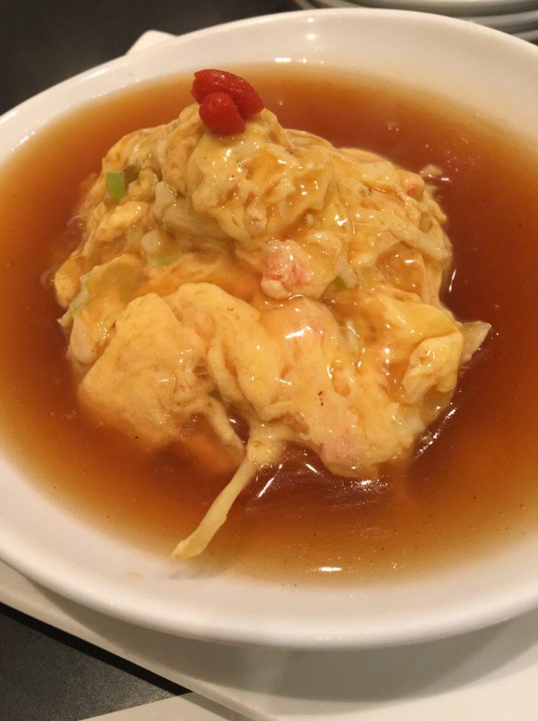 胡桃庵蟹肉と卵炒め