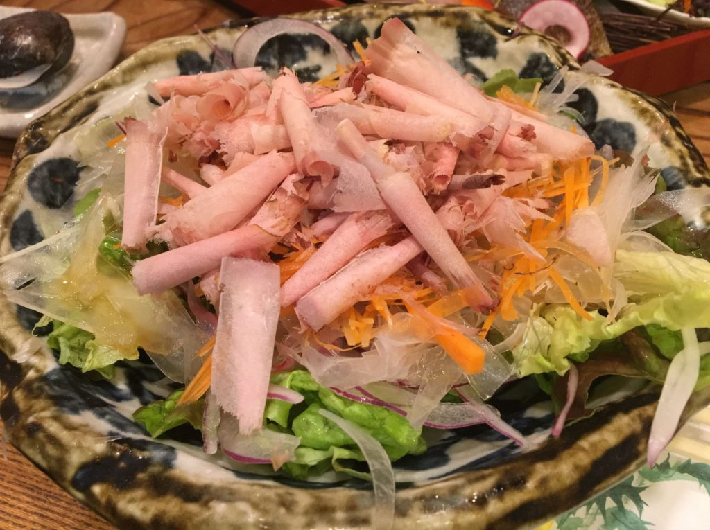 三彩大根サラダ