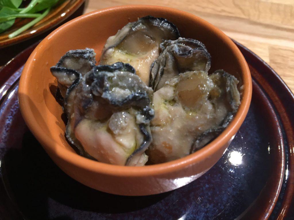 TOBIRA牡蠣のコンフィ