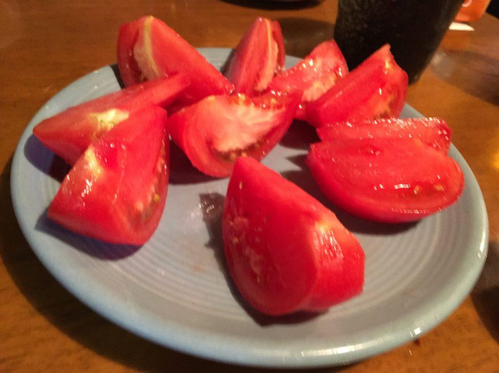 タチキュウトマト食べ放題