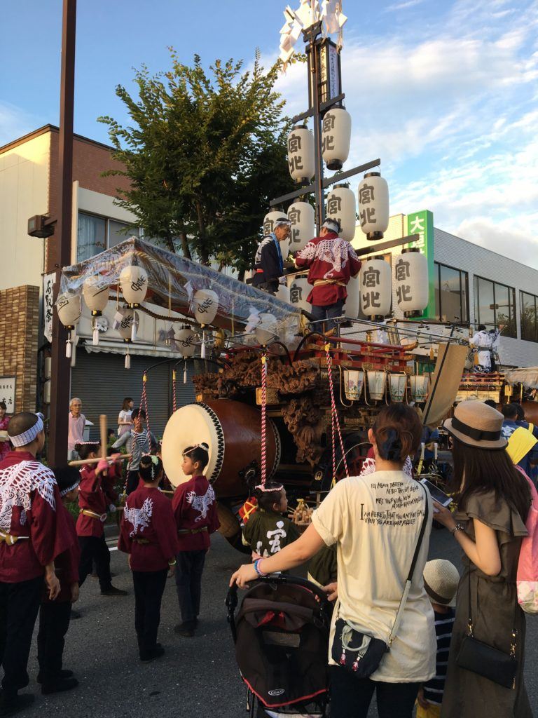 石取祭祭車