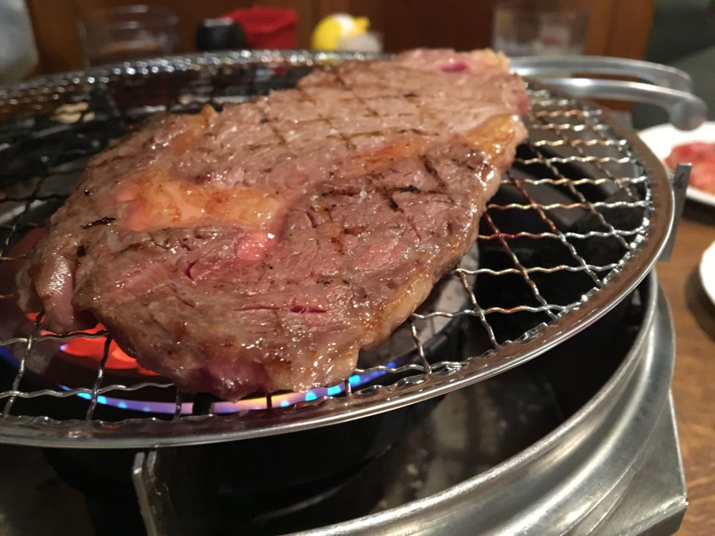牛炎ステーキ