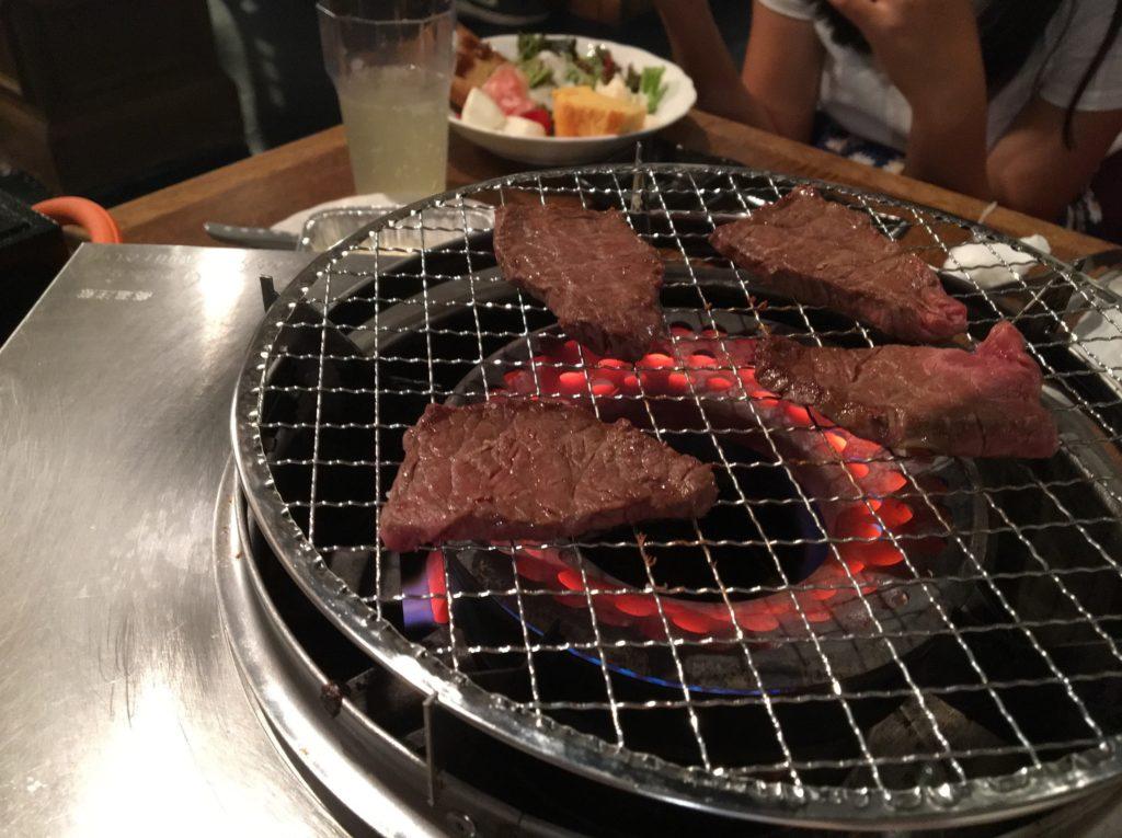 牛炎ロース焼き