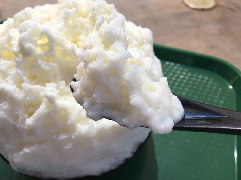 モクモクファーム塩みるく氷