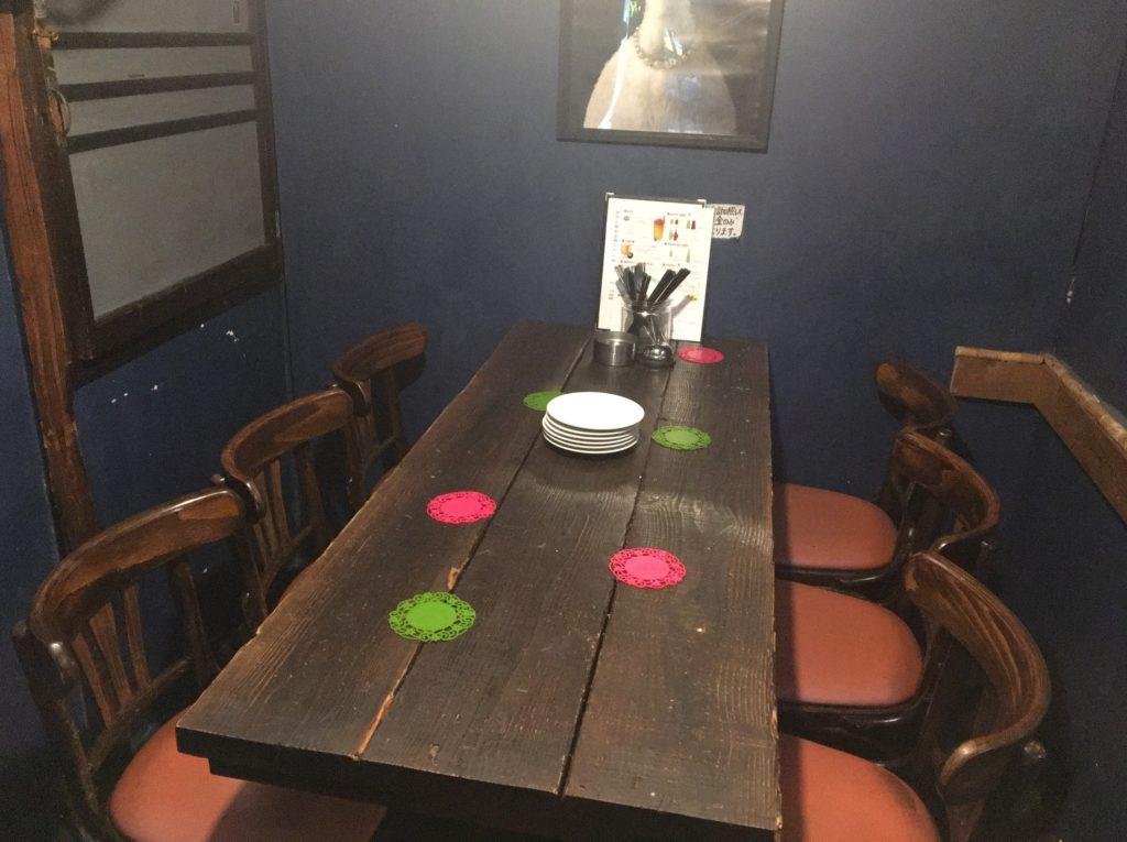 サアズデイオフテーブル