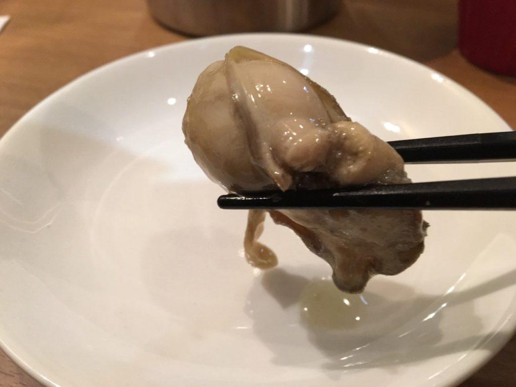 デルタ牡蠣のコンフィ