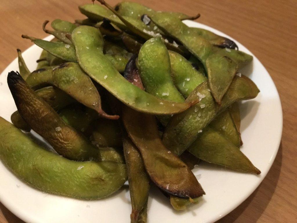 デルタ枝豆のスモーク