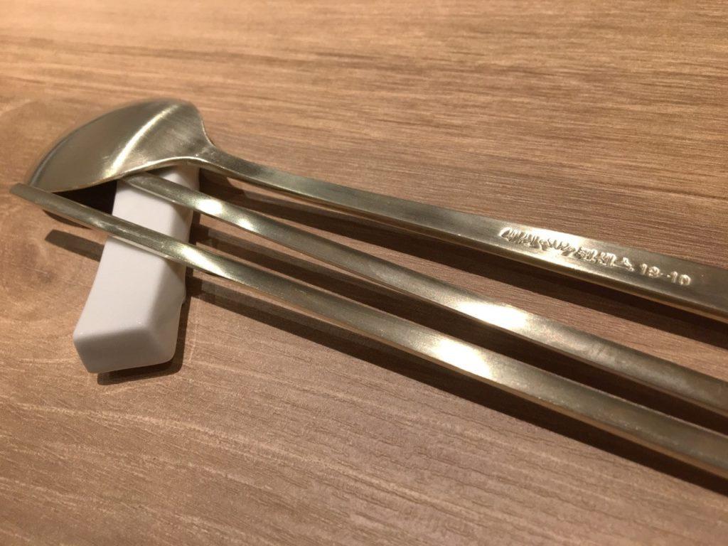 スラスプーンと箸