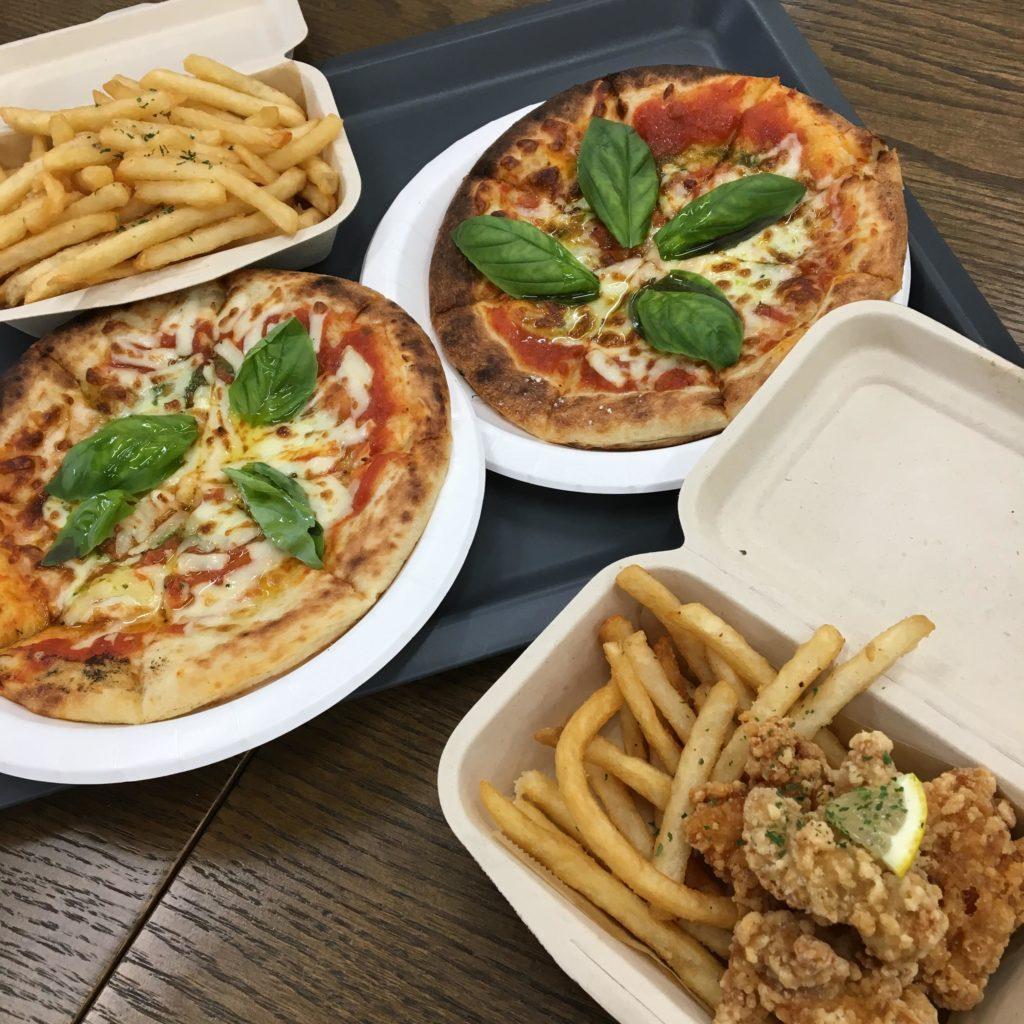 ひつじのショーンのローザンベリー多和田のピザとポテト