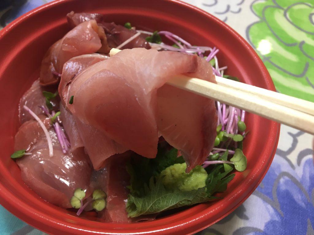 魚のてっぺんぶりブリブリ丼